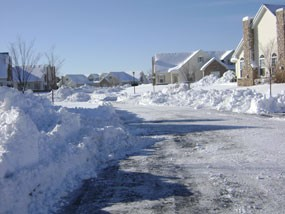 Roadway Snow Removal